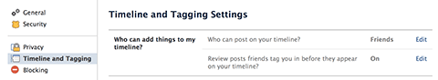 Monitoring your Facebook Timeline