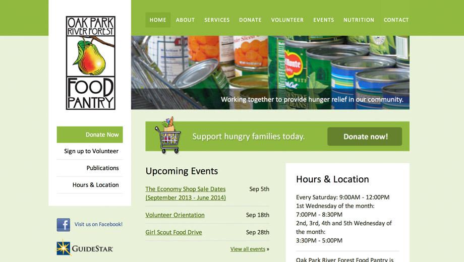Oak Park River Forest Food Pantry