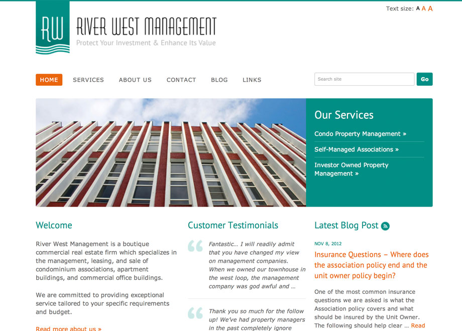 River West Management