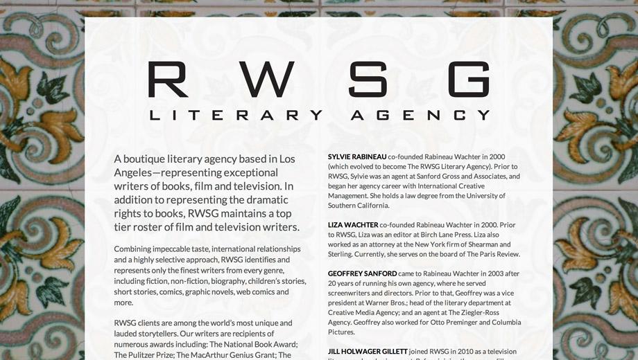 RWSG Literary Agency